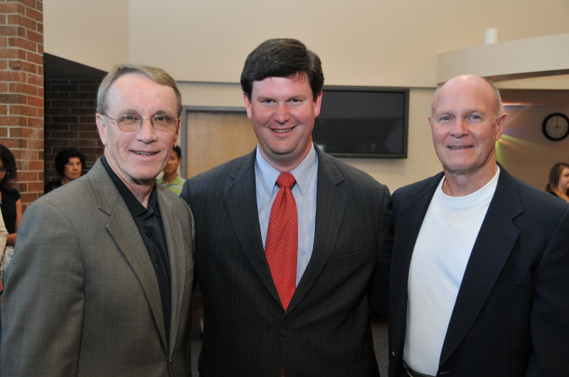 Dr. Bill Law, Mr. John Dailey and Mr. Ron Stunns